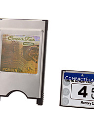 4G Ultra Digital CompactFlash Card with PCMCI Adapter