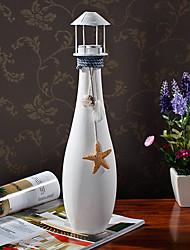 "15""H Mediterranean Style Romantic Vase Votive Candle Holder"