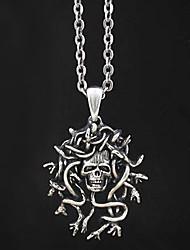 Gorgons Medusa Alloy Gothic Lolita Necklace