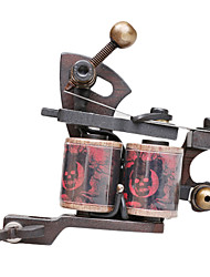 Dual Coils 10 Wraps Tattoo Machine Gun