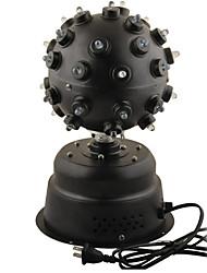 AC110V ~ 220V LED rotação Voice Control RGB Iluminação Stage