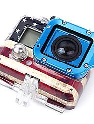 Completo GoPro aluminio Lanyard anillo de montaje Ver. 2 (azul)