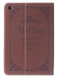 New Fashion Retro Diary Cover Case with Stand for iPad mini 3, iPad mini 2, iPad mini