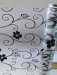 Classic Country Floral Pattern Window Film