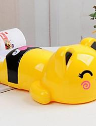 Adorable Cartoon Yellow Cat Saving Pot For Children