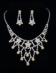 Star Necklace&Earring Set