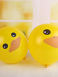 Adorável Ballon Rubber Duck - conjunto de 50