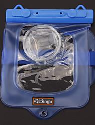 Бинго WP01-08 Водонепроницаемая камера защитные ПВХ сумка - синий