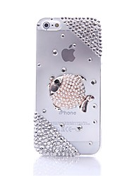 WWX Women's White Fish Cell phone Case For Iphone5/5S WWX0039