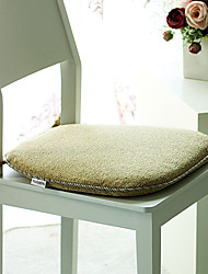 "Modern Washable Chair Pad, Polyester 18""*17"""