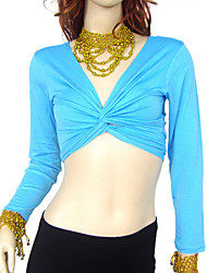 Dancewear Cottom Belly Dance Top For Ladies(More Colors)