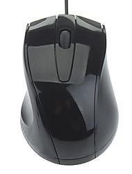 Cómodo USB ratón óptico (colores surtidos)