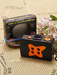 Orange and Black Film Wedding Camera With Four Holes