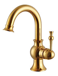 Bathroom Sink Faucets Contemporary Brass Polished Brass