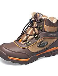 Inverno Mid-bezerro de duas cores Kid Wearproof Caminhadas Shoes