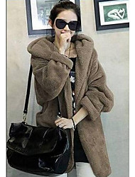 XD Nieuw Trendy Hooded Thicken Cape Coat