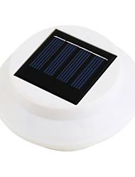 Cerca de 3 LED Solar Powered Gutter Luz al aire libre del jardín pared patio Camino de la lámpara (CIS-57206)