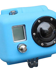 Funda de Silicona para GoPro HD Hero2 (azul de bebé)