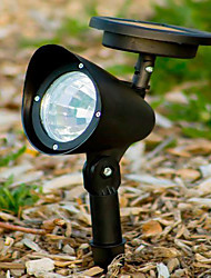 3 LED Outdoor Solar Powered Landschaft Spot Light LED Yard Garden Path Rasen-Lampe (CIS-57231)
