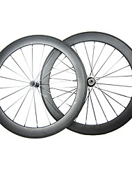 23mm Width 60mm 700C Full Carbon Clincher Road Bike/Bicycle Wheelsets