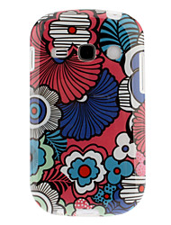 Colorful Petals Pattern TPU Soft Back Case Cover for Samsung Galaxy Fame S6810