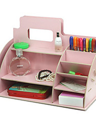 Creative Pink Wooden Storage Shelf