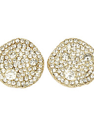 Round-shaped Stud Earrings