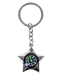 Personalized Keychain - Star Compass