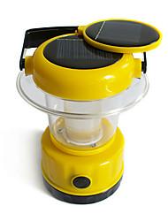 Solar Handheld 9 LED White Outdoor Camping Hiking Lantern Tent Lamp Light(CIS-57225)