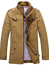Men's Fashion Leisure Cotton Thicken Suit