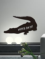 Escrever Animal em Crocodile Blackboard Wall Stickers