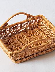 Tradizionale Rettangolo Bamboo Basket archiviazione