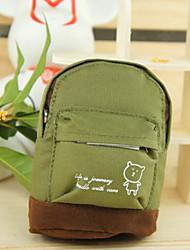 Mini mountaineering buckle School Bag Change Purse(Green)