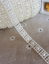 Wedding Décor 1M Square Style Faux Pearl Garlands for  Decoration