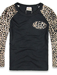 Boy's Cotton Tee,Winter Leopard