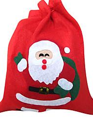 Cute Santa Claus Red Christmas Bag