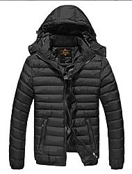 Men's Coats & Jackets , Polyester/PU/Spandex/Viscose Casual JLT