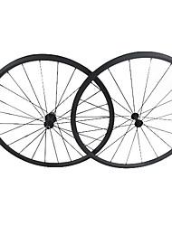 Farsports 700c Road Bike / bicicleta 24 milímetros * 23 milímetros Profundidade Largura cheia de carbono Clincher rodado