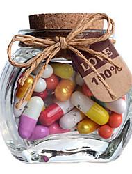 Modern Creativ Wishing Jar Full of Decorative Capsule