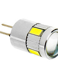 G4 LED Corn Lights T 6 SMD 5730 280 lm Cool White DC 12 V