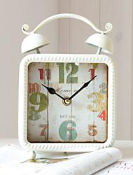 """8.5 """"H Fer Rétro style de table Horloge"""