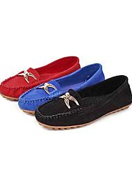 Suede Woman's Flat Heel Ballerina Flats Shoes(More Colors)