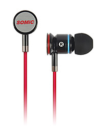 Somic MH405 Special-Designed Stereo Fashionable Music In-Ear Earphone With Mic for MP3/iPad/iPhone/MP4