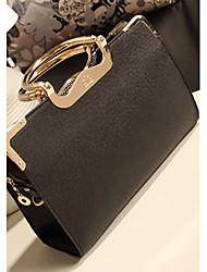 Backroom Fashion Single Shoulder Tote(Black)
