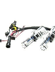 2pcs super valeur voiture H4-3 HID xénon ampoules Lampes AC / DC 12V55W (4300-12000K facultatif)