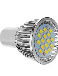 4W GU10 Focos LED 16 SMD 5730 350-400 lm Blanco Fresco AC 85-265 V