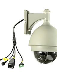 PTZ HD водонепроницаемый беспроводной IP WiFi камера (ночь версия, обнаружение движения, ИК-, панорамирования / наклона зум), p2p
