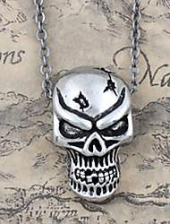 Fierce Skull Alloy Gothic Lolita Necklace