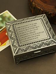 boîte à souvenirs alliage d'étain personnalisé