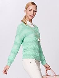 Women's Winter Chiffon Loosen Long Sleeve Sweater